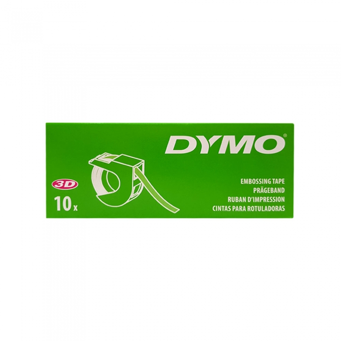 Dymo Embossing Tape 9mm, red, S0898150 S0847690-big