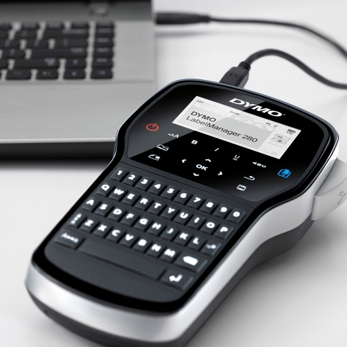 DYMO LabelManager 280 Label Maker,QWERTY, S0968960, 968960-big