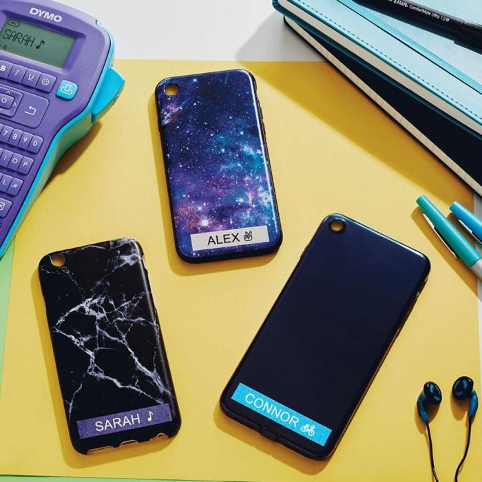 Aparat de etichetat Touch Screen DYMO LabelManager 500TS si 1 caseta etichete profesionale, 12 mmx3m, negru/argintiu, 2084401 S0946420 S0946450-big