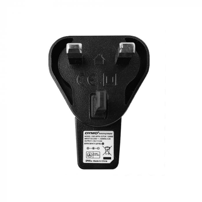 Incarcator la retea pentru gama LabelManager 160P, 280P, 420P, 210D, 360, PnP 40076UK S0721440-big