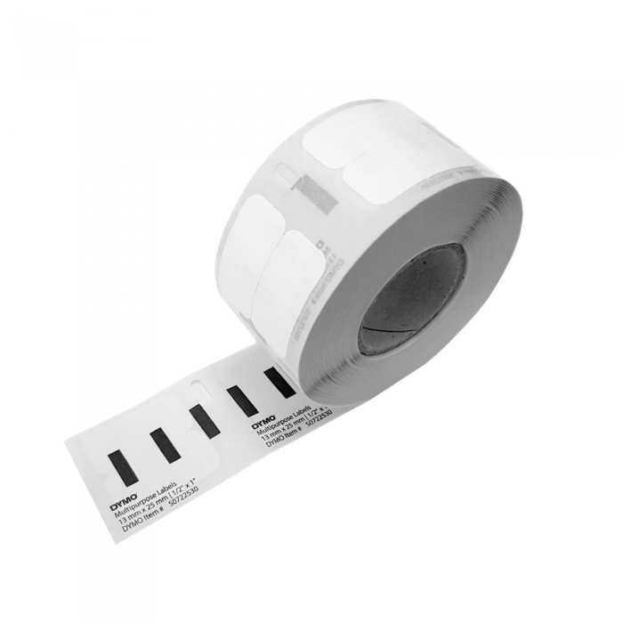 DYMO LabelWriter Return Multi-purpose labels, removable, 25mmx13mm, paper white, 11353 S0722530-big