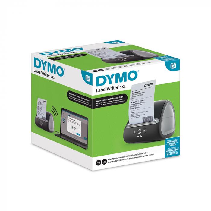 Imprimanta termica etichete DYMO LabelWriter 5XL, senzor recunoastere etichete, aparat de etichetat 2112725-big