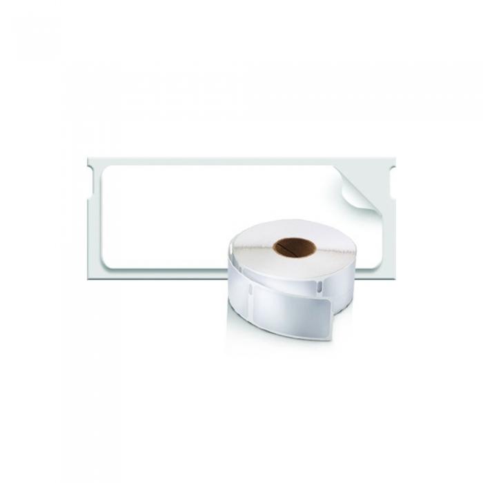 Etichete termice industriale, DYMO LabelWriter Durable, coduri de bare, 19mmx64mm, polipropilena alba, 1 rola/cutie, 900 etichete/rola, 1933085-big