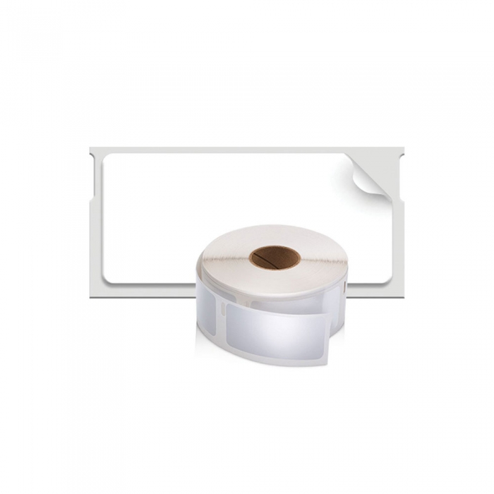 Etichete termice industriale, DYMO LabelWriter Durable, multifunctionale mici, 25mmx54mm, polipropilena alba, 1 rola/cutie, 160 etichete/rola, 1976411-big