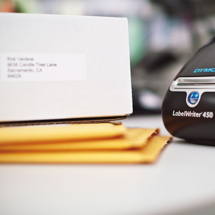 Etichete termice, DYMO LabelWriter, adrese mari, permanente, 89mmx36mm, hartie alba, 1 rola/cutie, 260 etichete/rola, 1983172 99012 S0722400-big