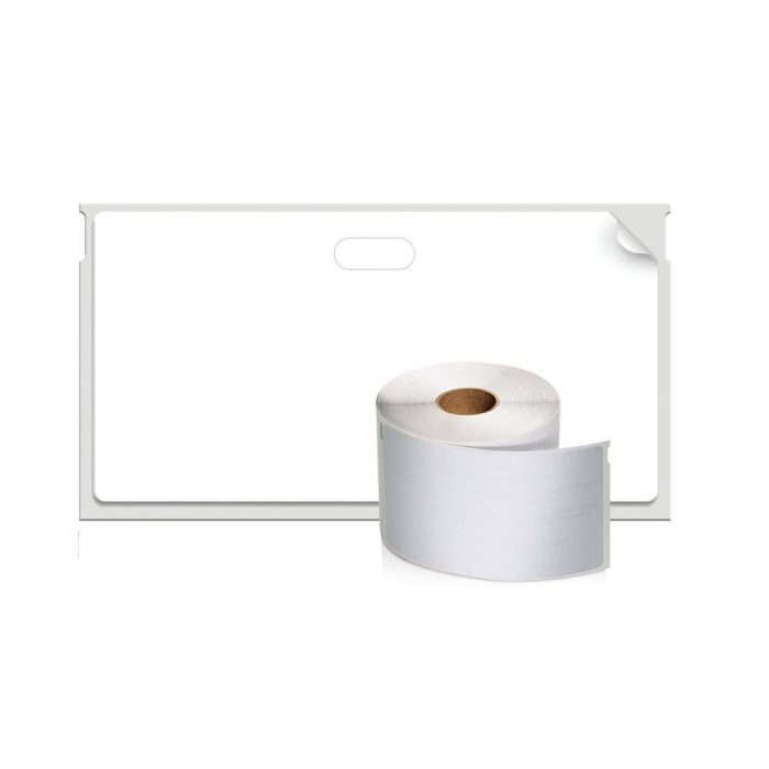 Etichete termice, DYMO LabelWriter, repozitionabile, 89mmx41mm, hartie alba, 11356 S0722560-big