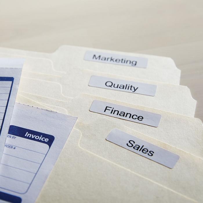 Etichete termice, DYMO LabelWriter, dosare suspendate, permanente, 12mmx50mm, hartie alba, 1 rola/cutie, 220 etichete/rola, 99017 S0722460-big