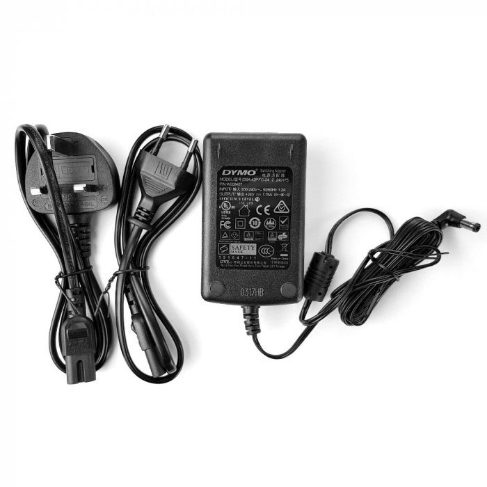 Adaptor la retea imprimante termice gama LabelWriter, 240V, EE si UK 931160-big