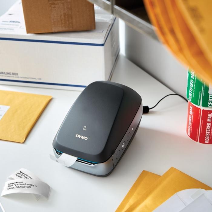 Imprimanta termica DYMO LabelWriter 460 Wireless, aparat de etichetat negru 2000931 2000932-big
