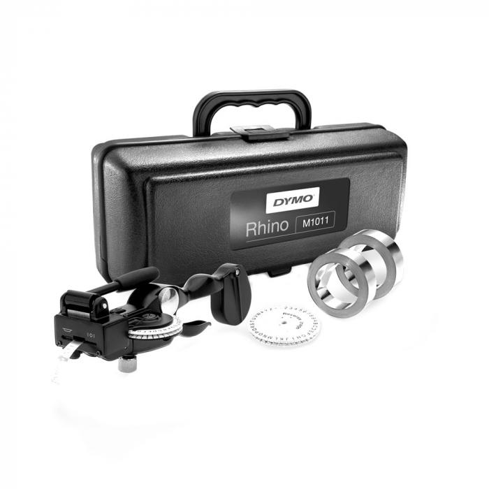 Aparat de etichetat/embosat industrial DYMO Rhino M1011 Kit 101110 S0720090 DE272941068-big