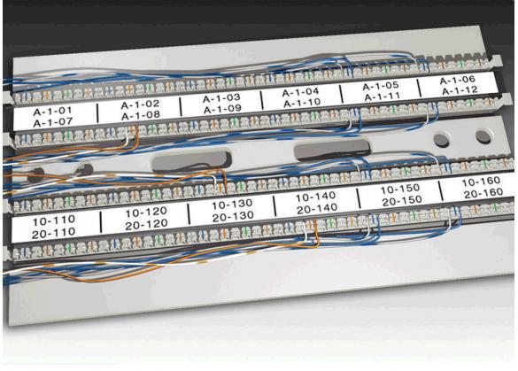 Etichete industriale autoadezive, DYMO XTL, poliester permanent, 12mm x 9m, negru/alb, 1868737-big