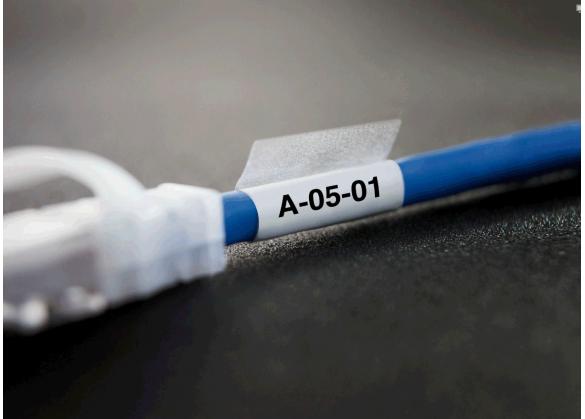 Etichete industriale autoadezive DYMO XTL, vinil autolaminant, 21mm x 102mm, 1868706-big