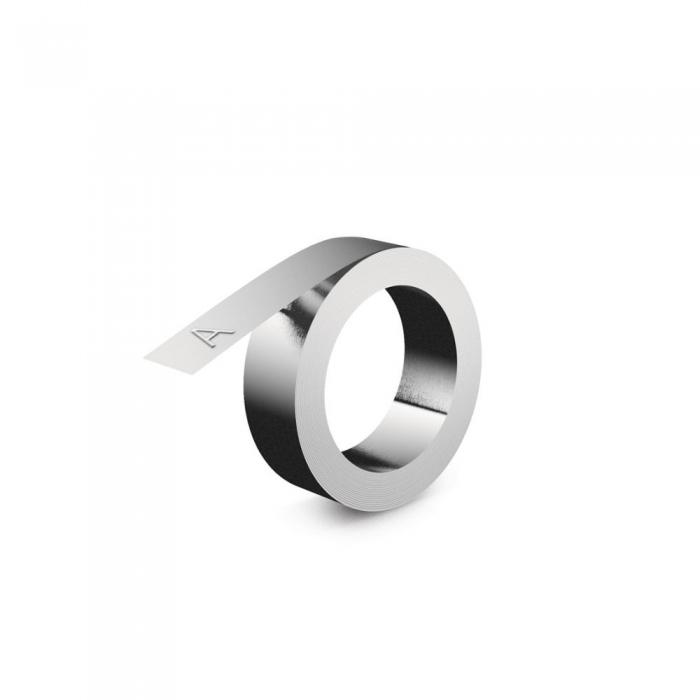 Etichete compatibile metalice embosabile industriale DYMO, 12mmx4m, aluminiu, 31000 S0720160-C-big
