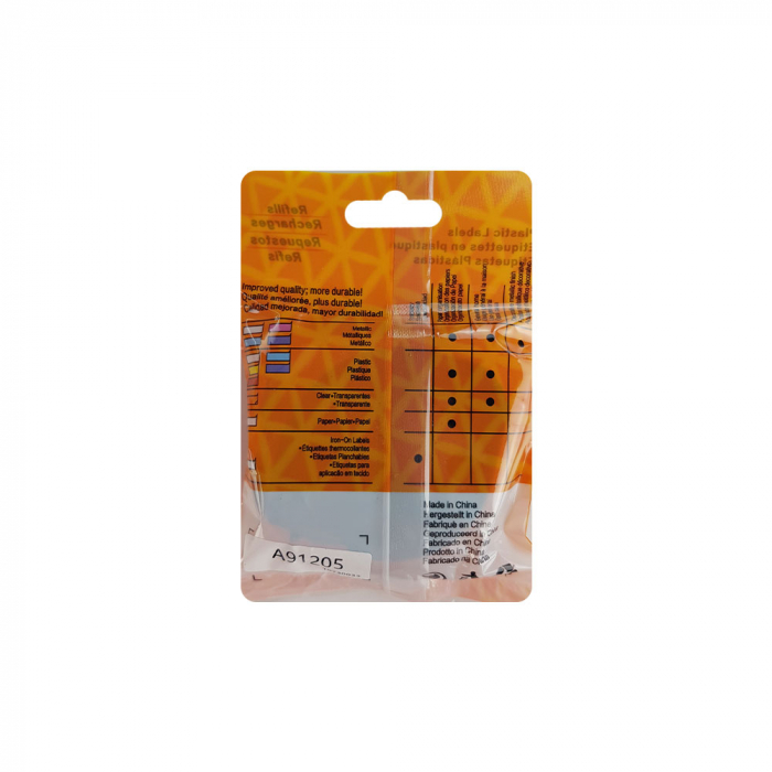 Etichete compatibile DYMO LetraTag 12mmx4m, plastic, albastru, 91205 DY91205-big