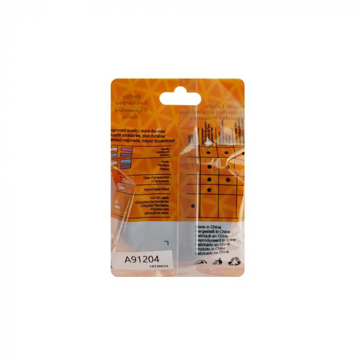 Etichete compatibile DYMO LetraTag 12mmx4m, plastic, verde, 91204 DY91204-big