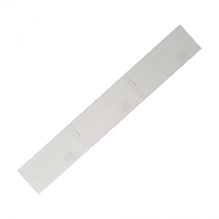 Etichete termice patrate compatibile Brother DK-11221, 23mm x 23mm, hartie alba, adeziv permanent, 1000 etichete/rola, suport din plastic inclus DK11221-big
