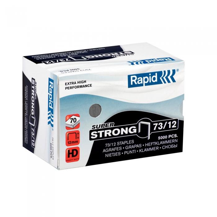Capse 73/12 Rapid 5 000 buc/cutie SUPER STRONG-big