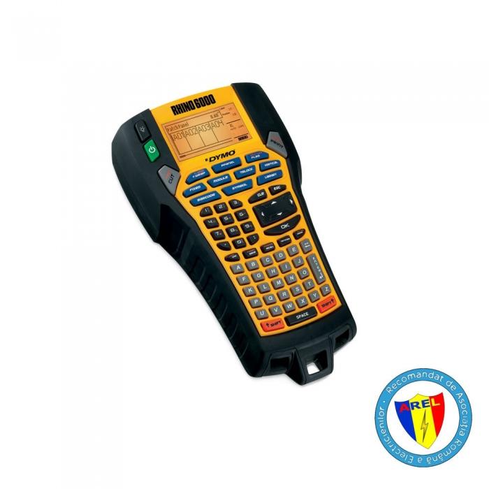 Aparat etichetat industrial Dymo Rhino 6000, 24 mm, conectare PC, S0773800-big