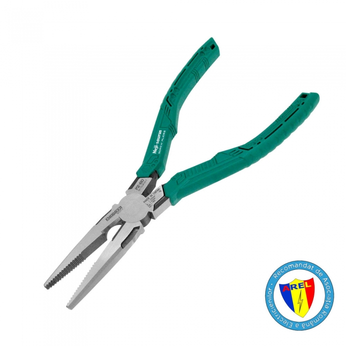 Long Nose Gripping Pliers ENGINEER PZ-60, 193 mm, made in Japan-big