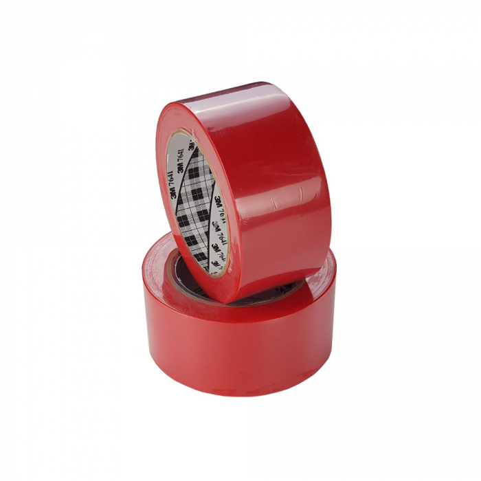 Banda marcare/protectie 3M 764i vinil rosu, 50mm x 33m, marcare terenuri sport indoor, 70006299864-big