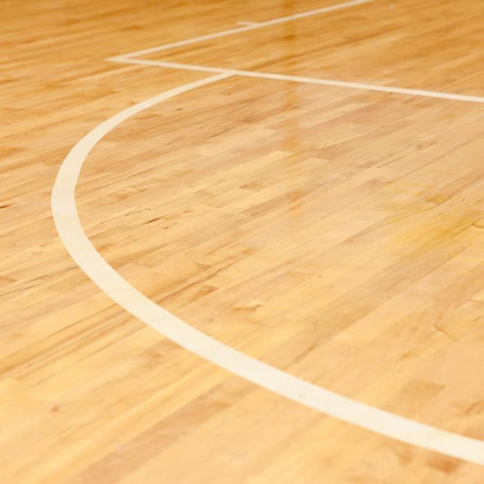 Banda marcare/protectie 3M 764i vinil alb, 50mm x 33m, marcare terenuri sport indoor, 70006299666-big