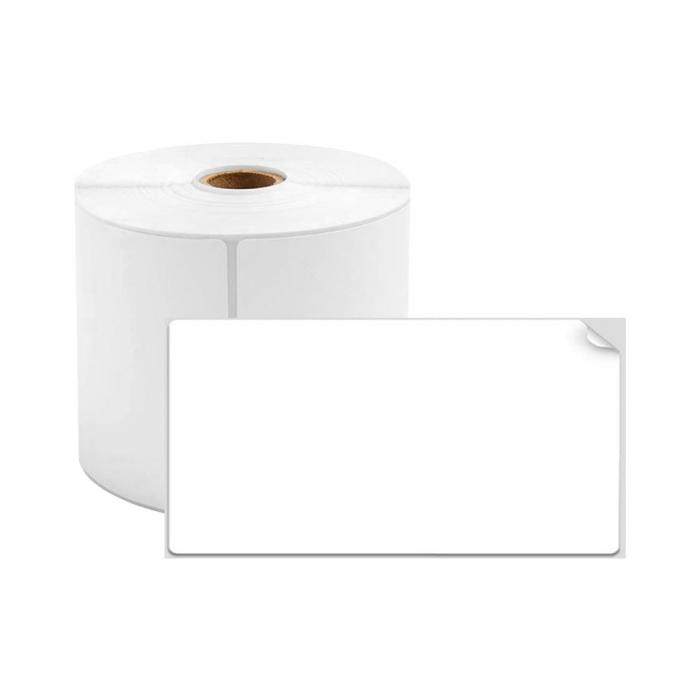 Etichete termice universale 20 x 10mm, plastic alb, permanente, 1 rola, 600 etichete/rola, pentru imprimanta M110 si M200-big