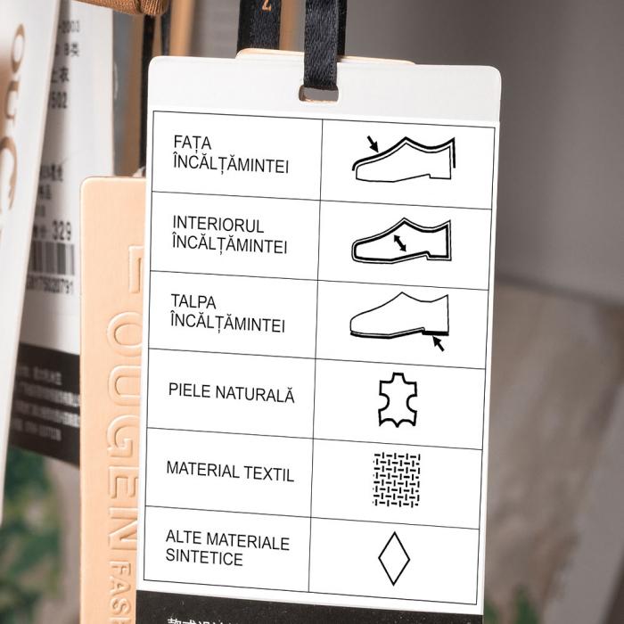 Etichete termice universale 40 x 20mm, hartie alba, permanente, 1 rola, 320 etichete/rola, pentru imprimanta M110 si M200-big