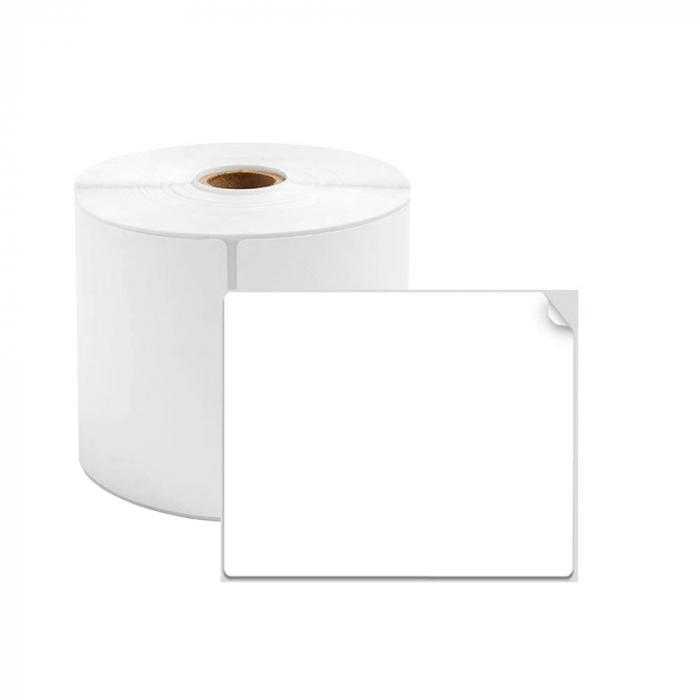 Etichete termice universale 40 x 40mm, plastic alb, permanente, 1 rola, 180 etichete/rola, pentru imprimanta M110 si M200-big