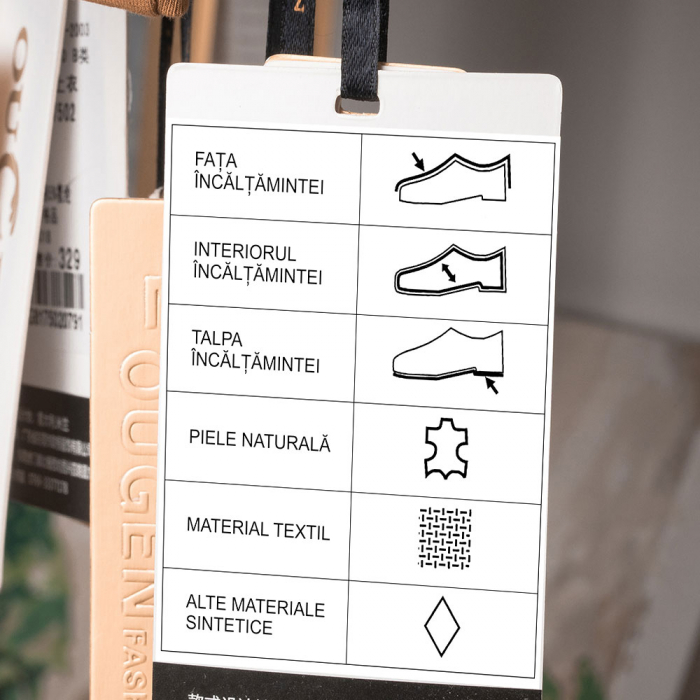 Etichete termice universale 45 x 15mm, plastic alb, permanente, 1 rola, 400 etichete/rola, pentru imprimanta M110 si M200-big