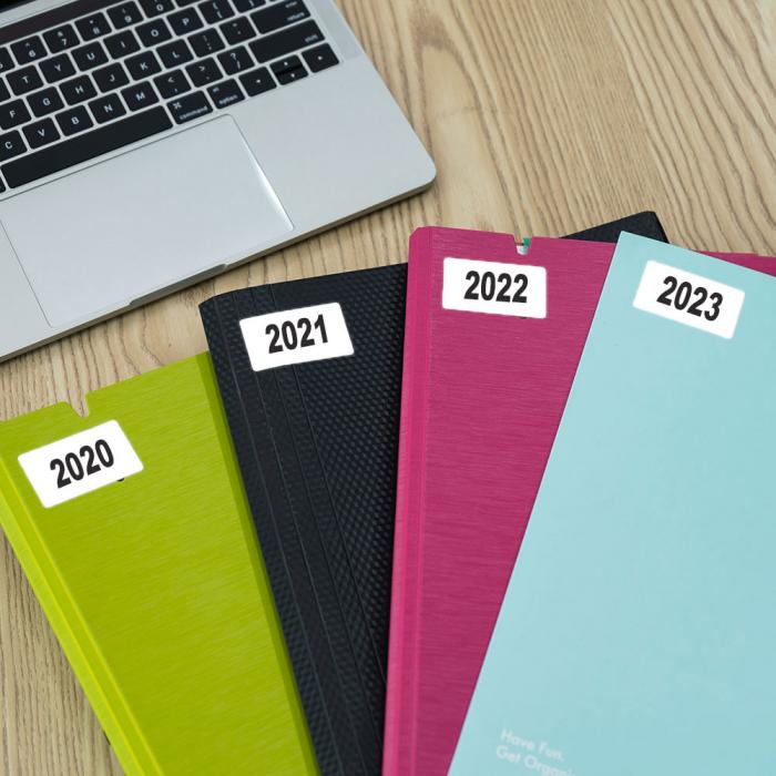 Etichete termice universale 45 x 20mm, hartie alba, permanente, 1 rola, 320 etichete/rola, pentru imprimanta M110 si M200-big