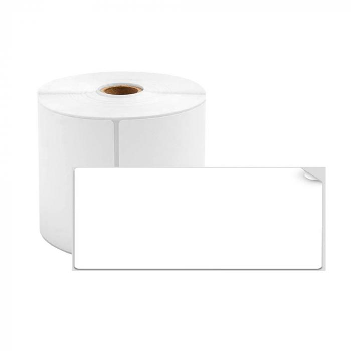 Etichete termice universale 50 x 20mm, plastic alb, permanente, 1 rola, 320 etichete/rola, pentru imprimanta M110 si M200-big