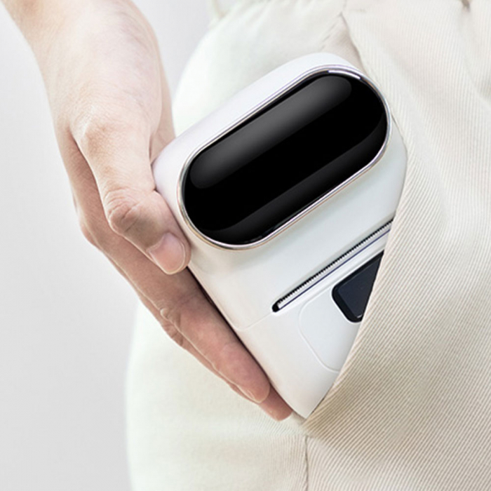 Etichete termice universale 50 x 30mm, plastic alb, permanente, 1 rola, 230 etichete/rola, pentru imprimanta M110 si M200-big