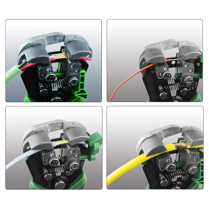 Decablator universal de mare precizie Engineer PAW-01, ajustare automata diametru, 3 in 1 (taiere, dezizolare, sertizare)-big