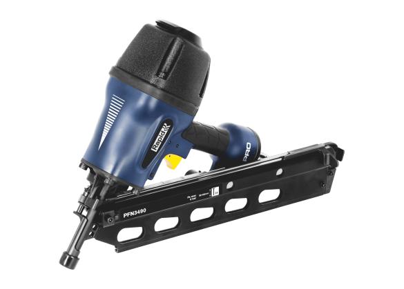 Pistol de batut cuie in banda Rapid PFN3490, pneumatic, cuie tip 34/50-90mm-big