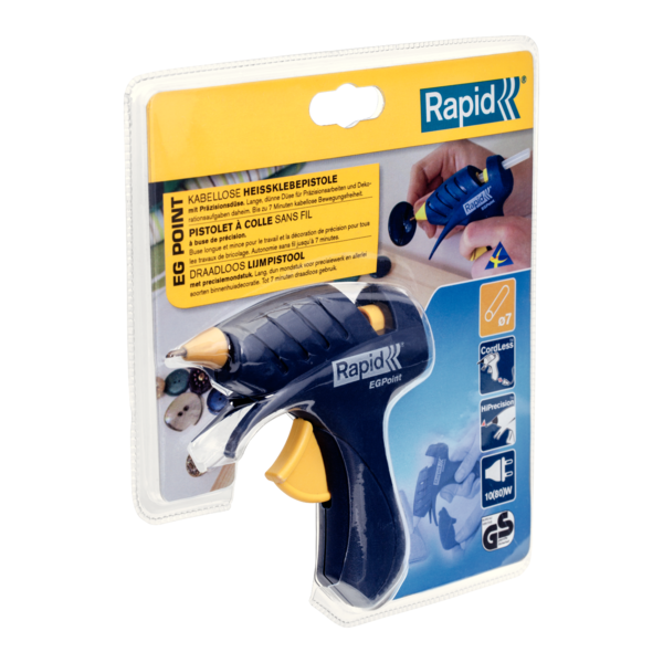 Rapid EG Point Cordless Glue Gun  80W 150g/h Ø7mm-big