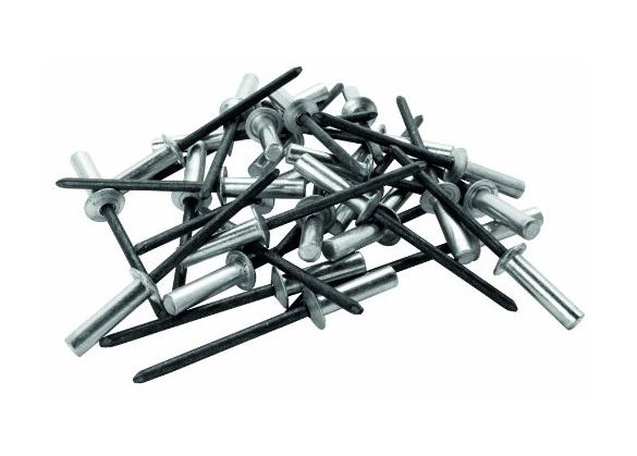 Popnituri Rapid etansare - diametrul de 4 mm x 14 mm, aluminiu, burghiu inclus, 50 buc/ blister-big