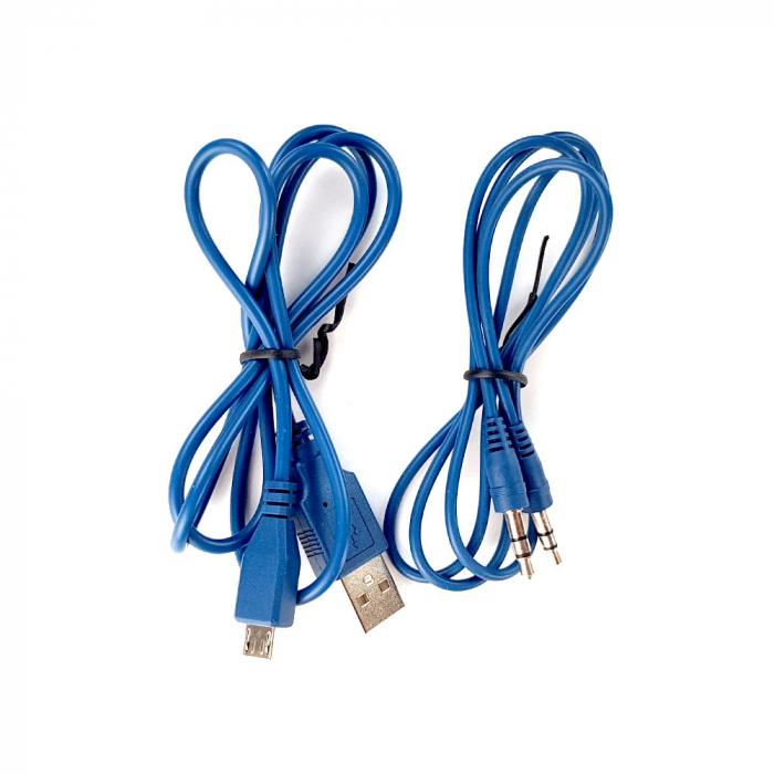 Boxa portabila Blaupunkt BT03BL Bluetooth, 3W, autonomie 7 ore, FM, slot microSD card, cablu incarcare microUSB/USB, cablu conectare Jack 3.5 mm, albastru-big