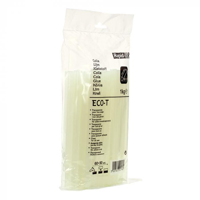 Baton silicon Rapid ECO-T Universal, transparent, Ø12mm, baza EVA, 1 kg/pachet 40302798-big