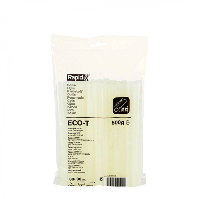 Baton silicon Rapid ECO-T Universal, transparent, Ø12mm, baza EVA, 500 g/pachet 24941500-big