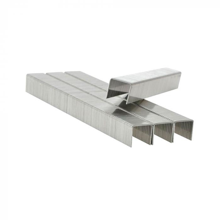 Capse Rapid 13/10 mm, galvanizate, sarma subtire, pentru tapiterie, 2500/cutie carton 11840625-big