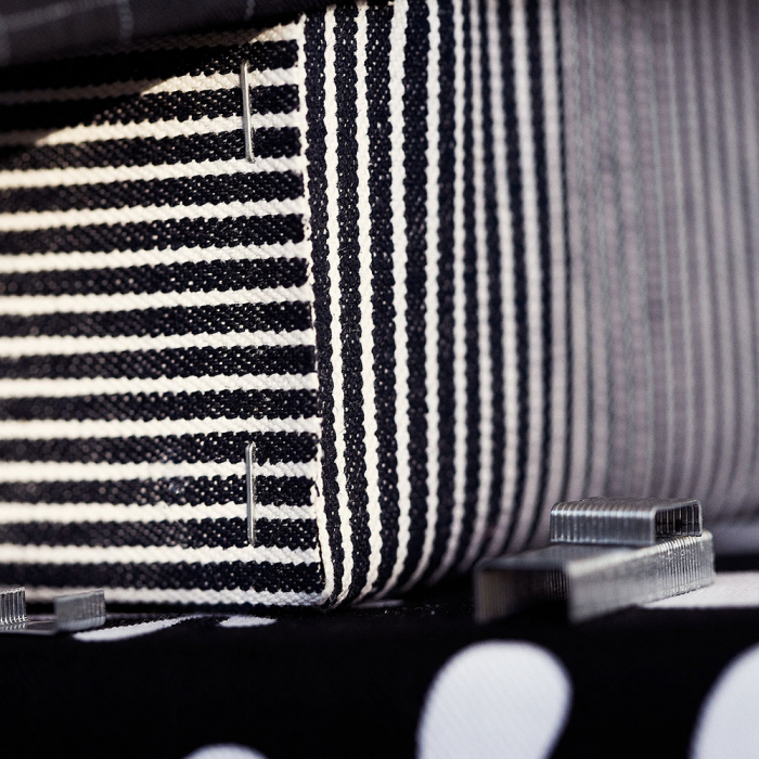 Capse Rapid 13/6 mm, galvanizate, sarma subtire, pentru tapiterie, 1650/blister slim 40109519-big