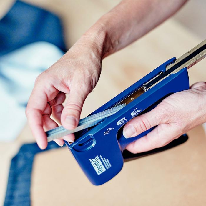 Capse Rapid 13/6 mm sarma subtire din otel inoxidabil, pentru tapiterie, 2500/cutie carton 11830726-big