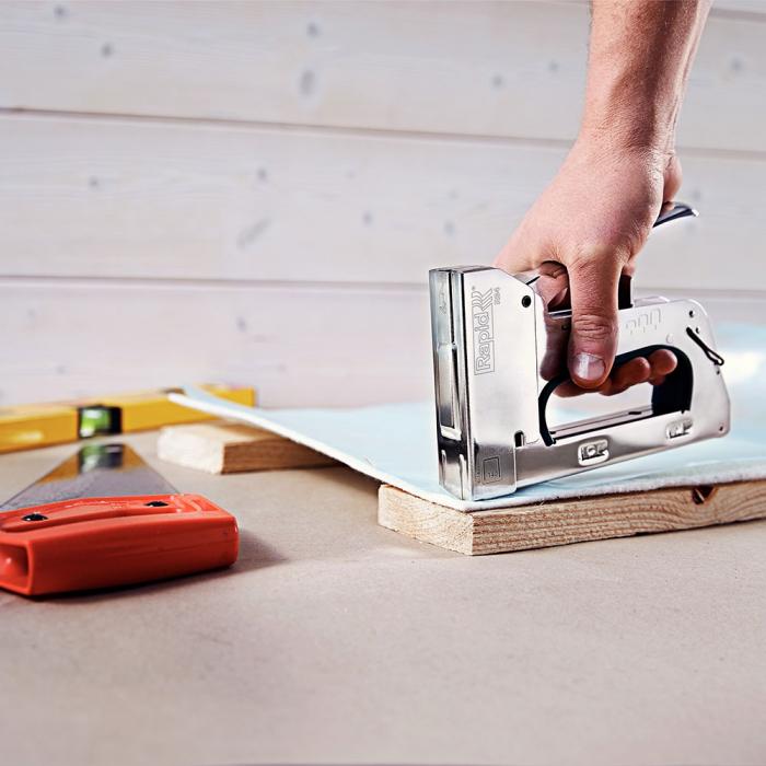 Capse Rapid 140/10, sarma plata galvanizata, High Performance, pentru acoperis, 5000 capse/cutie carton 11910711-big