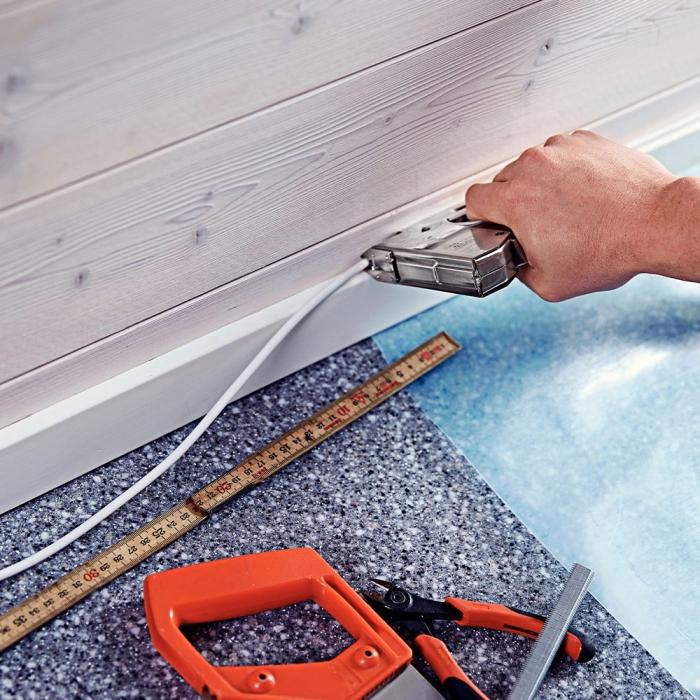 Capse albe Rapid 28/11 mm pentru cabluri, High Performance, galvanizate, semicirculare, divergente, 1000 capse/cutie 11891931-big