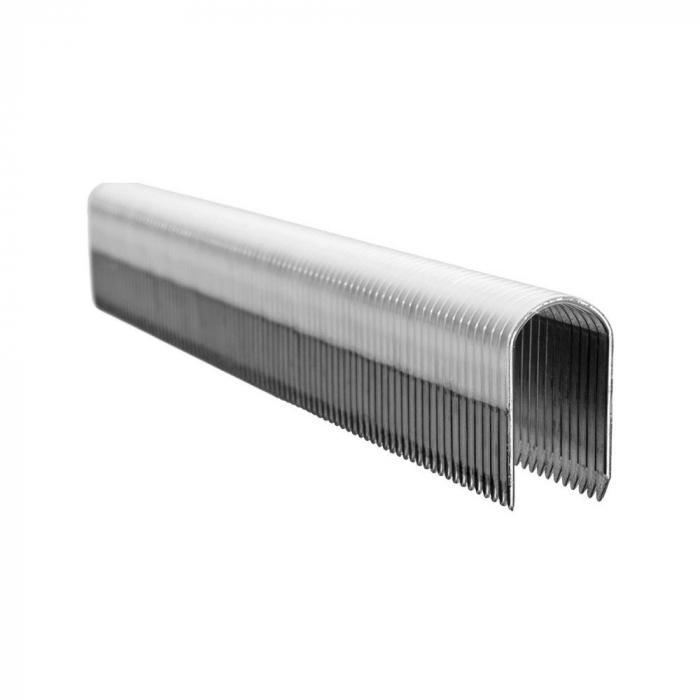 Capse Rapid 7/12 mm pentru cabluri, High Performance, galvanizate, semicirculare, 960 capse/blister 40109523-big