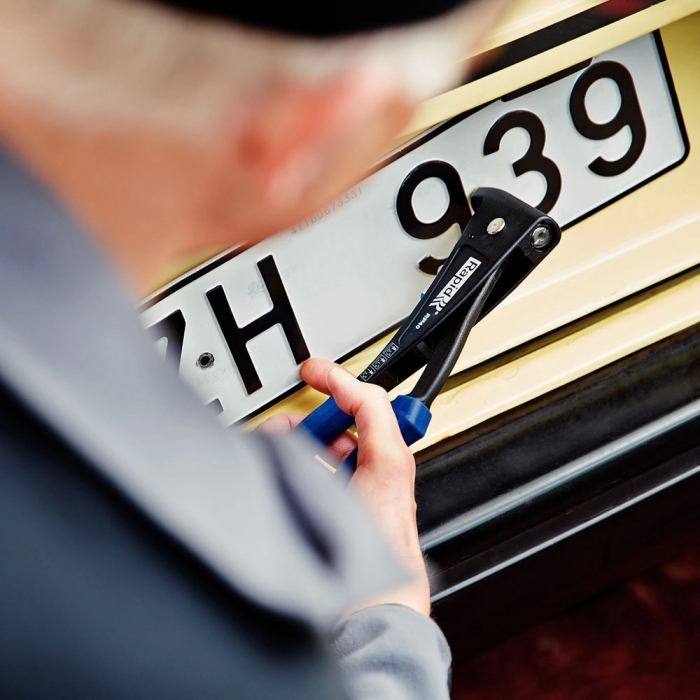 Nituri Rapid Automotive diametru 4.0mm x 12mm, aluminiu, burghiu metal HSS inclus, 50 buc/set 5000405-big