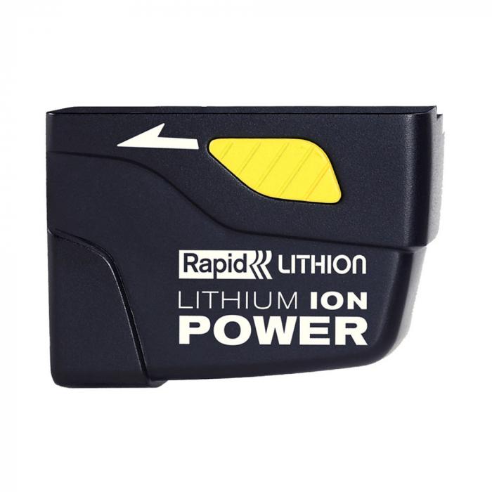 Pistol de lipit Rapid BGX300 cu acumulator, batoane silicon 12mm, 30W, debit 250 g/ora, acumulator Li-Ion inclus, 40303073-big