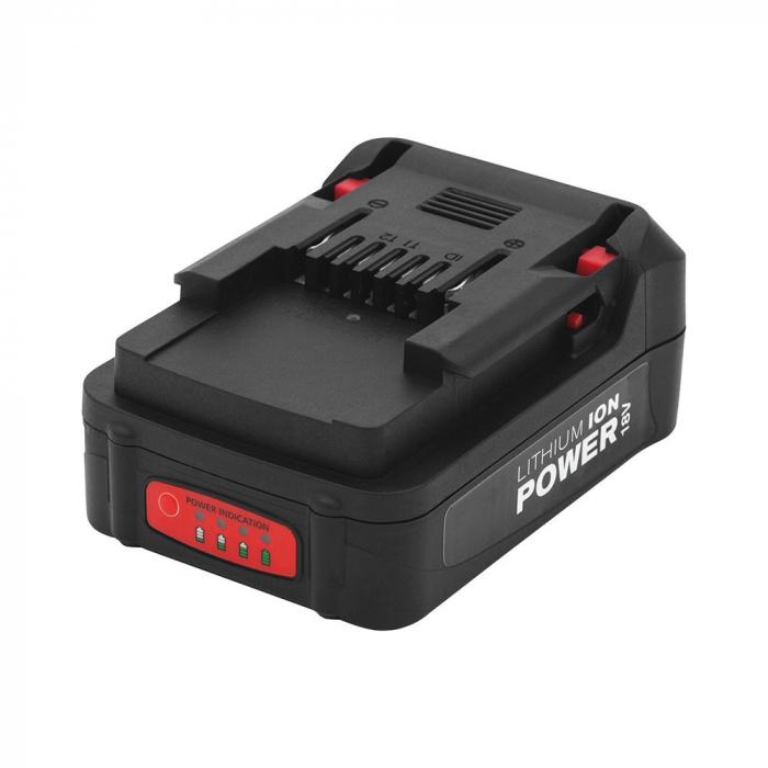 Rapid BN64/BN50 Battery 18V Li-Ion 2 Ah, fast charcing, LED power indicator light 5000838-big