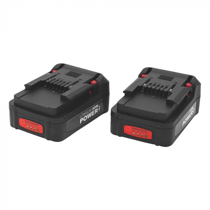 Acumulator Rapid pentru BN64/BN50 18V Li-Ion 2 Ah, incarcare rapida, indicator LED nivel acumulator 5000838-big