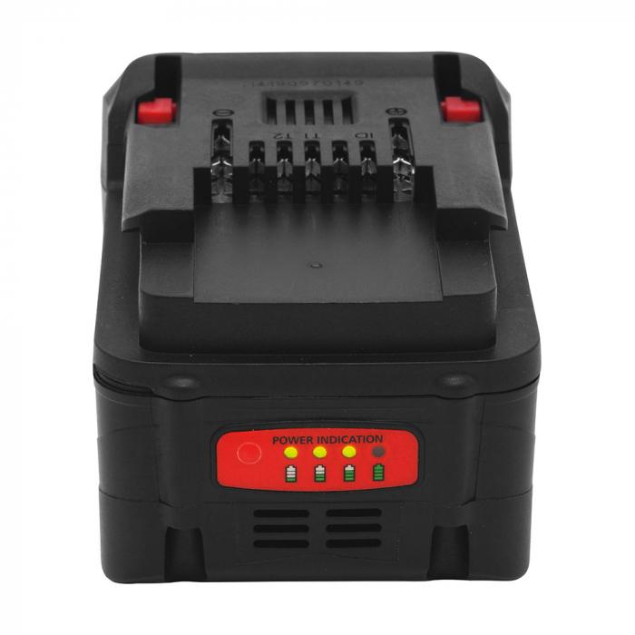 Acumulator Rapid pentru BN64/BN50 18V Li-Ion 3 Ah, incarcare rapida, indicator LED nivel acumulator 5000839-big